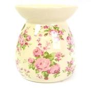 Ceramic Tealight Vintage Candle Holder Romance Essential Oil Burner