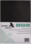 4 x A4 Magnetic Sheets 0.5mm Thick Perfect for Spellbinder Dies