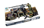 RCECHO® TRUMPETER Military Model 1/35 German Anti-Aircraft Gun Crew Hobby 00432 P0432 with RCECHO® Full Version Apps Edition