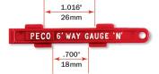 Peco SL-336 1.8m Way Gauge