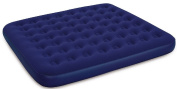Bestway Inflatable Blow Up King Size Flocked Camping Air Mattress Bed