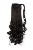 """OneDor® 20""""/50cm Long Curly Wrap Around Ponytail Hair Extension Synthetic 120g-130g"""