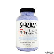 Spazazz SPZ-605 RX Therapy Crystals Container Bath Minerals, 560ml, Stress Therapy De-Stress