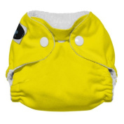 Imagine Baby Products Newborn Stay Dry All-In-One Snap Cloth Nappy, Marigold