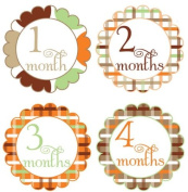 Belly Bump Stickers Momma To Be Pregnancy Stickers Belly Stickers Mama To Be Stickers Scalloped Swash Collection