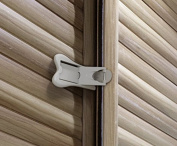 Sliding Door Lock for Closet & Window Locks with 3M Tape, Child Safety & Baby Proofing, 2 Pack