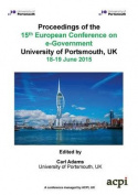 Proceedings of the 15th European Conference on eGovernment