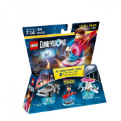 LEGO Dimensions Marty McFly (Back to the Future) Level Pack