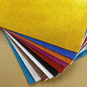 20pc A4 Handmade Foam Paper Sheet for DIY Home Wall Decorations Multicolor