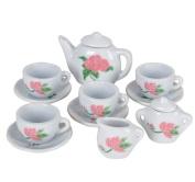 13 Piece Porcelain Tea Set