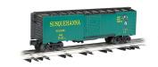 Williams by Bachmann 12m Scale Box Car New York, Susquehanna and Western - Suzy Q - O Scale