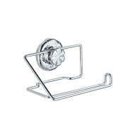 Bathroom Toilet Paper Holder Stainless Steel Suction Cup Wall Mount