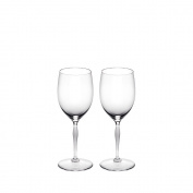 Lalique 100 Point Water Glass Set Of 2