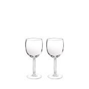 Lalique Diamond Water Glass Set Of 2