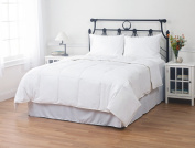 Hotel Style White Duck Down Comforter, 550 Fill Power, 230 Thread Count by ExceptionalSheets, King