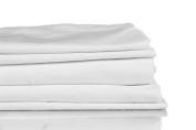1200 Thread Count Luxury Soft Cotton Silky Sateen Sheet Set, Extra Deep Pocket