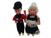 Ethnic Dutch Dolls Costume Boy and Girl