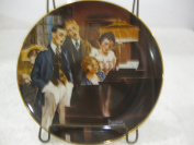 Norman Rockwell Close Harmony Plate