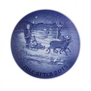 Bing & Grondahl 2015 Annual Christmas Plate, 1902215, Santa's Presents