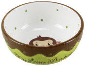Young's 11cm Monkey Ceramic Bowl, Small