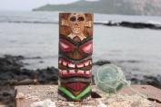 Tiki Totem Pole 13cm w/ Cross Bones - Hawaii
