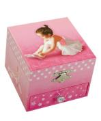"MusicBox Kingdom 22120 Ballerina Musical Jewellery Box, Playing ""Swan Lake"""