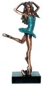 Ballerina with Green Skirt C/D4006