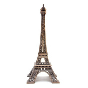 Metal Eiffel Tower Statue 16cm French Statue