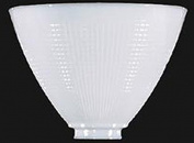 20cm Glass Floor Lamp Reflector Shade Glass