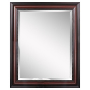 Head West Traditional Cherry Wall Mirror, 70cm by 90cm