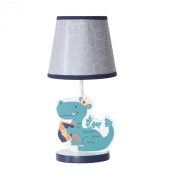 Bedtime Originals Sparky Lamp with Shade and Bulb, Green