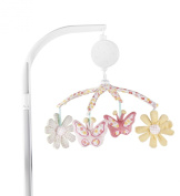 Kidsline Fanciful Floral Musical Mobile