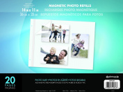 Pinnacle Frame 28cm by 36cm Magnetic Refillable Photo Album, Large