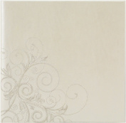 Pinnacle Frames and Accents Wedding Scroll 160-Pocket Photo Album