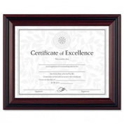 DAX Document Frame, Insert 22cm x 28cm , Frame 27cm x 33cm , Rosewood/Black (DAXN15786NT) Sold as 4/Pack