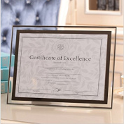 Grade crystal glass Photo / Diploma / Document Frame A4 delicate process simple and .