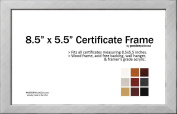 22cm x 14cm Certificate Frame - Wood Frame - Holds any document measuring 22cm x 14cm inches