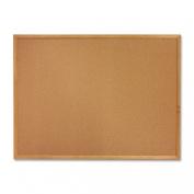 Sparco Cork Board, 5.1cm x 3.8cm , Wood Frame