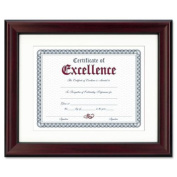 DAX 28cm by 36cm Wall-Mount Document Frame, Rosewood