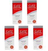 Cotz Spf 40 UVB/UVA Sunscreen for Sensitive Skin, 100ml (Set of 5