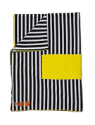 Hej Kid's Chill Out Cover, Stripes/Black/White