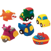 Cars and Aeroplanes Squirty Bath Toys