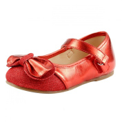 Fashion Flower Girls Dress Shoes Glitter Wedding Party Sparkle Toddler & Youth Size