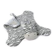 Zeebs the Plush Zebra Baby Blanket Comfy Cosy by Gund