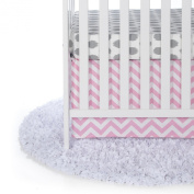Sweet Potato by Glenna Jean, Starter Set Includes grey dot sheet & crib skirt