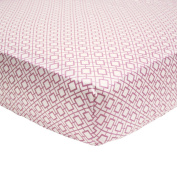 Sophie Fitted Crib Sheet by Petit Nest