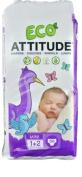 Attitude EcoDiapers Mini Size 1 -- 36 Nappies