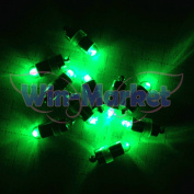 Win-Market 12pcs Green mini LED DIY Light for Paper Lantern Balloon Floral birthday Wedding Bar party Decoration