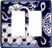 Double Decora Traditional Talavera Switch Plate