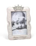 DEMDACO Crown Photo Frame, Always A Princess, 10cm x 15cm